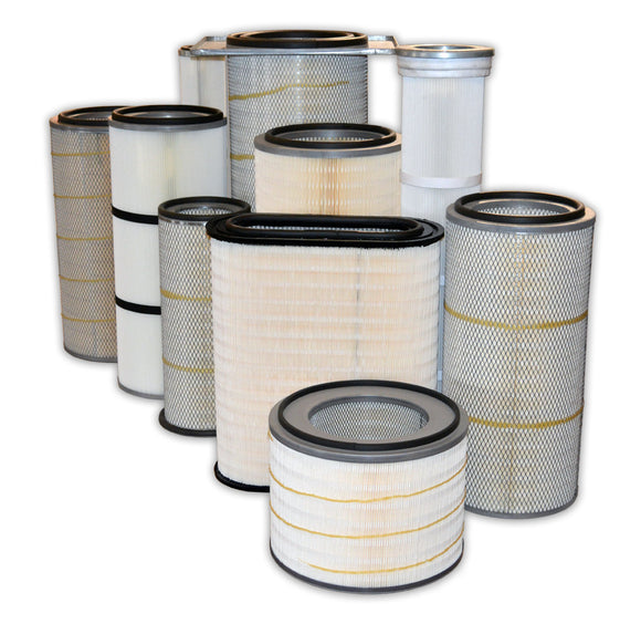 Dust Collection Cartridge Filters