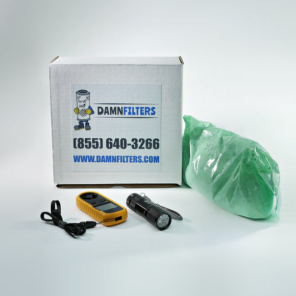 Dust Collector Test Kits and Parts