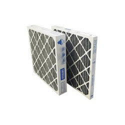 24x24x2 Pleated Air Filter Carbon Impregnated Media 4 Pack