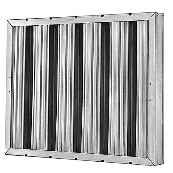 25x25x2 Grease Baffle Filter (2