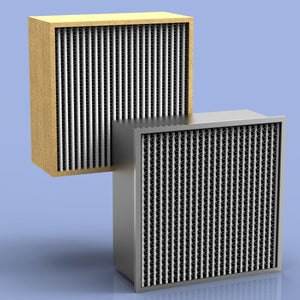 HEPA Filter 24 x 24 x 6 700 CFM 99.97% Particle Board (2 Count)
