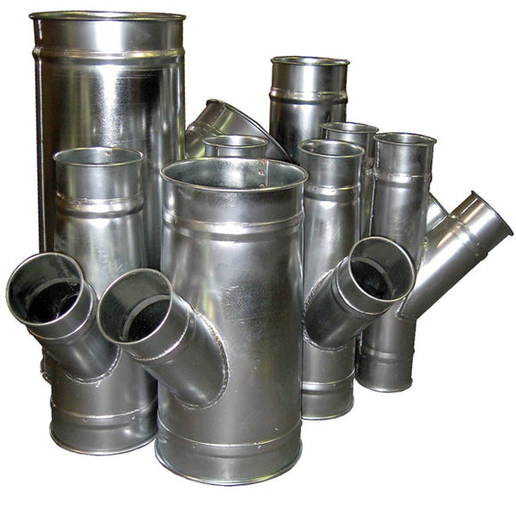 Galvanized Reducers for Clamp Together Duct