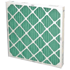25x25x1 Pleated Air Filter MERV 8 Synthetic 24 ct
