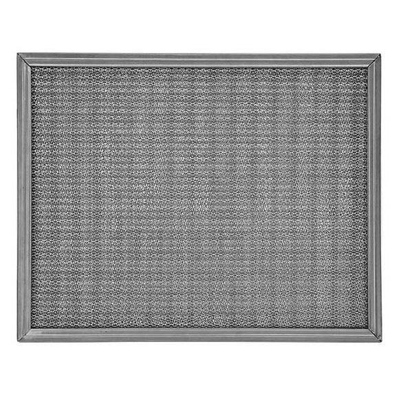 16x25x1 Metal Mesh Air Filter (Aluminum)