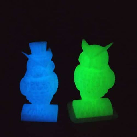 Glow in the dark PLA