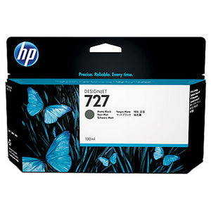 HP B3P22A #727 130-ml Matte Black Ink Cartridge