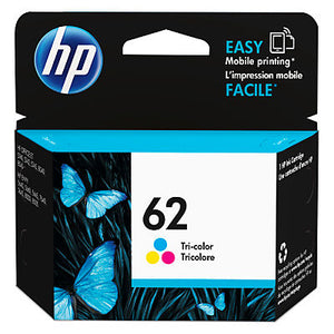 HP C2P06AN #62 Tricolor Ink Cartridge