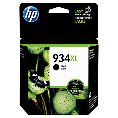 HP C2P23AN #934XL Black Ink Cartridge