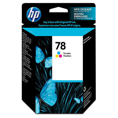 HP C6578DN#140 HP #78 Tricolor Inkjet Print Cartridge