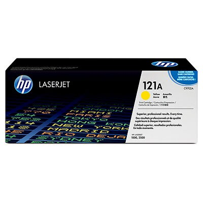 HP C9703A #121A Yellow Color LaserJet 1500, 2500 Smart Print Cartridge
