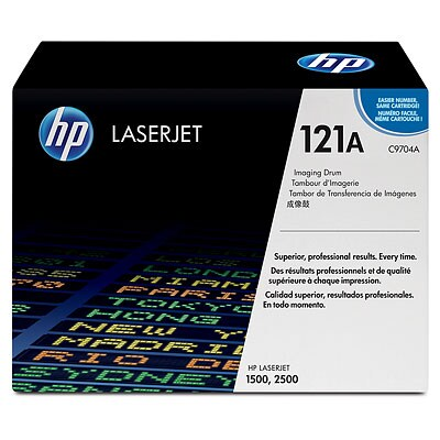 HP C9704A #121A Imaging Drum Kit for LaserJet 1500, 2500