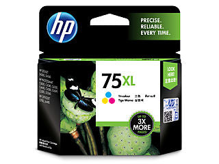 HP CB338WN #75XL Tricolor Ink Cartridge