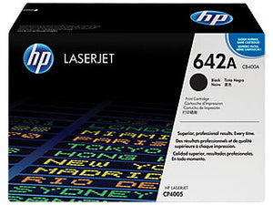 HP CB400A #642A Black Toner For Laserjet CP4005 Cartridge