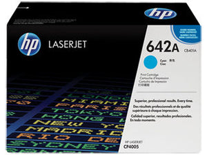 HP CB401A #642A Cyan Toner For Laserjet CP4005 Cartridge