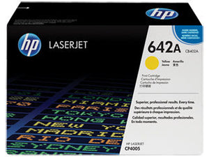 HP CB402A #642A Yellow Toner For Laserjet CP4005 Cartridge