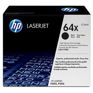HP CC364X #64X Black Toner Cartridge for Laserjet P4015