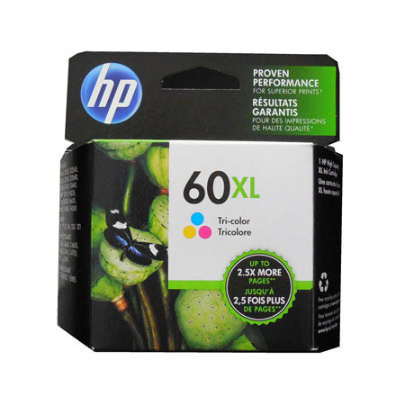 HP CC644WN #60XL Colour Ink Cartridge