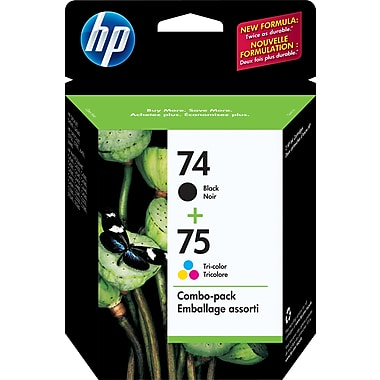 HP CC659FN #74/75 Retail Combo Pack