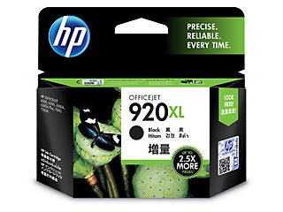 HP CD975AN #920XL Black Officejet Ink Cartridge
