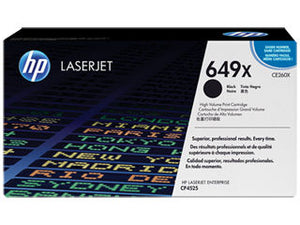 HP CE260X #647X Black HY Cartridge For Color Laserjet CP4525