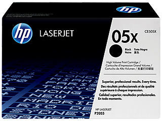HP CE505X #05X Black High Yield Toner For Laserjet P2055