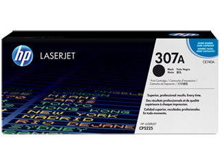 HP CE740A #307A Black Toner For Color Laserjet CP5225 Series