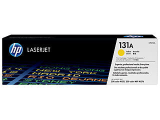 HP CF212A #131A Yellow Toner For Laserjet Pro 200 M251/mfp M276