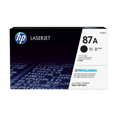 HP CF287A #87A Black Toner For M527c/m527dn/m527f/m506dn/m506x