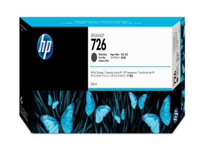 HP CH575A HP #726 300ml Matte Black Designjet Ink Cartridge