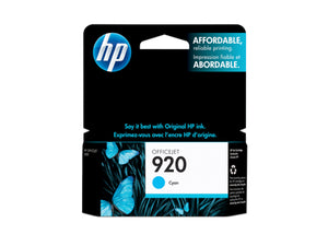 HP CH634AN #920 Cyan Officejet Ink Cartridge