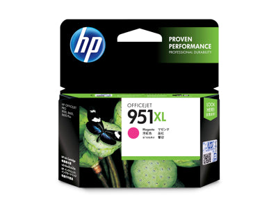 HP CN047AN #951XL Magenta Officejet Ink Cartridge