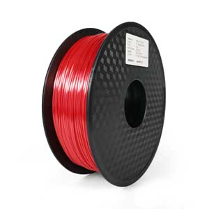 Silk-Like Raging Red PLA