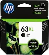 HP F6U64AN #63XL Black Ink For Deskjet 1110, 2130, 3630 / Envy 4520