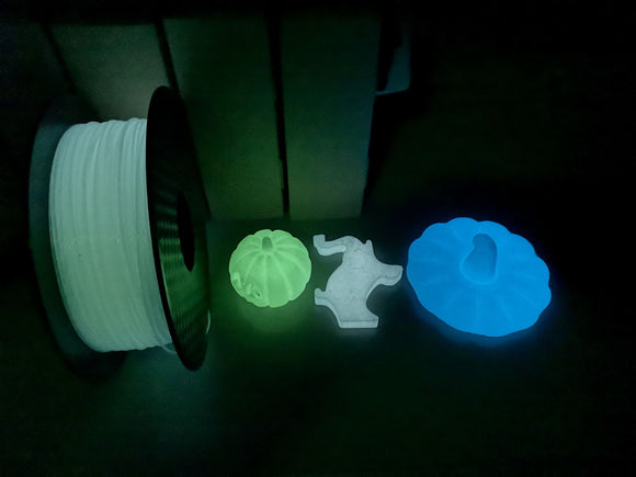 Glow in the dark white PLA
