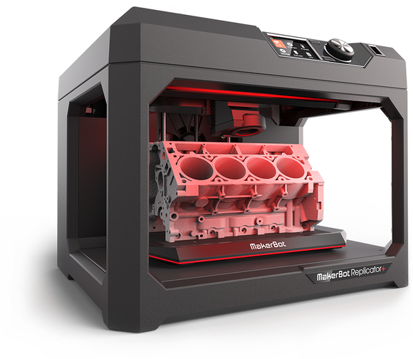 Demo Sale MakerBot Replicator+ 3D printer MP07825