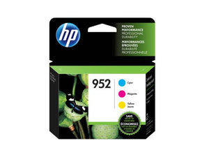 HP N9k27AN #952 C/M/Y Combo Pack #952XL Black HY Ink For Officejet Pro 8710/8715/8720/8725/8730/8740