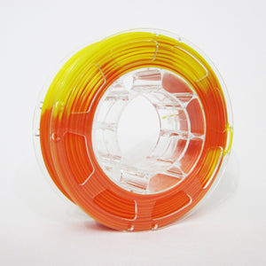 PLA Temperature Colour Change Orange to Yellow 1Kg