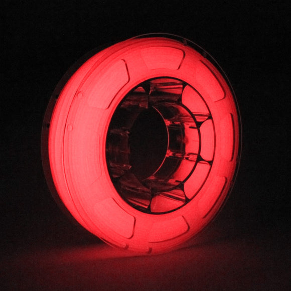 PLA Glow in the Dark, Luminous Red 1Kg