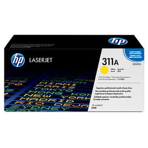 HP Q2682A #311A Yellow Toner For Color Laserjet 3700