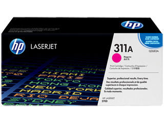 HP Q2683A #311A Magenta Toner For Color Laserjet 3700