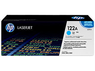 HP Q3961A #122A Cyan Toner For Color Laserjet 2550 / 2800