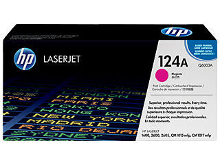 HP Q6003A #124A Magenta Toner Cartridge For Laserjet 2600