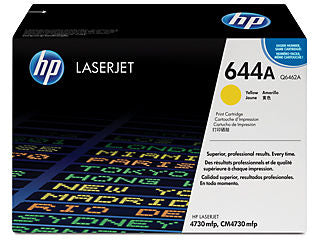 HP Q6462A #644A Yellow Toner Cartridge For Color Laserjet 4730