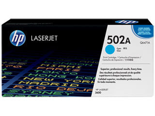 HP Q6471A #501A Cyan Cartridge For Laserjet 3600