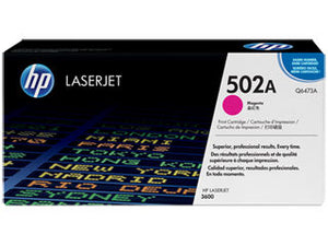 HP Q6473A #501A Magenta Cartridge For Laserjet 3600