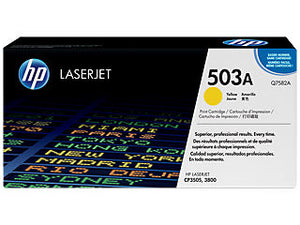 HP Q7582A #503A Yellow Toner For Color Laserjet 3800 Series