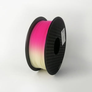 PLA Light Change White-Red 1Kg