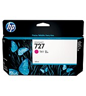 HP B3P20A #727 130-ml Magenta Ink Cartridge