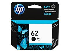 HP C2P04AN #62 Black Ink Cartridge