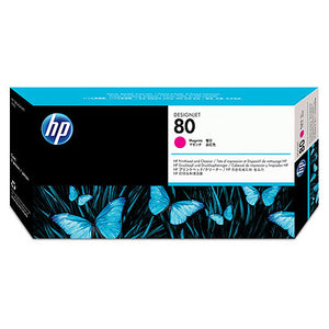 HP C4822A HP #80 Magenta Printhead & Cleaner For 1050c/1055cm